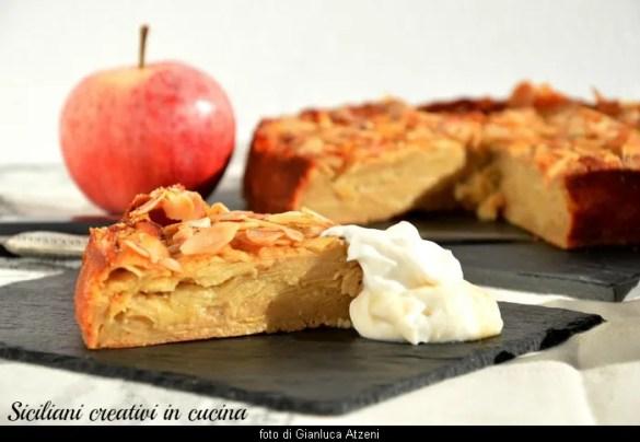 Torta di mele light, e senza burro