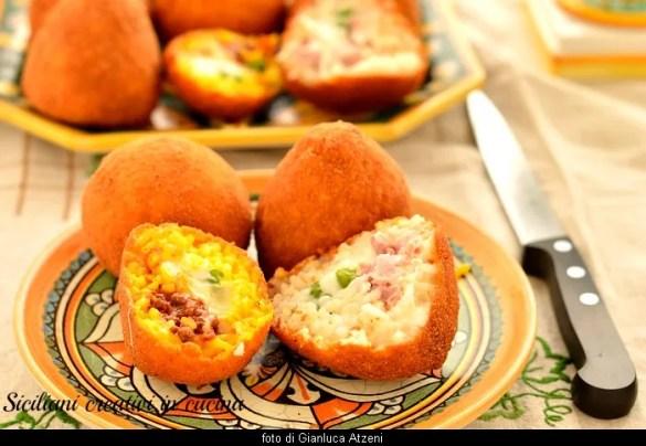 tereyağı ve et sosu için Sicilya arancini, tutti i segreti per fare in casa l'arancino perfetto