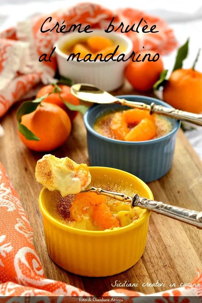 Mandarinen Creme brulée