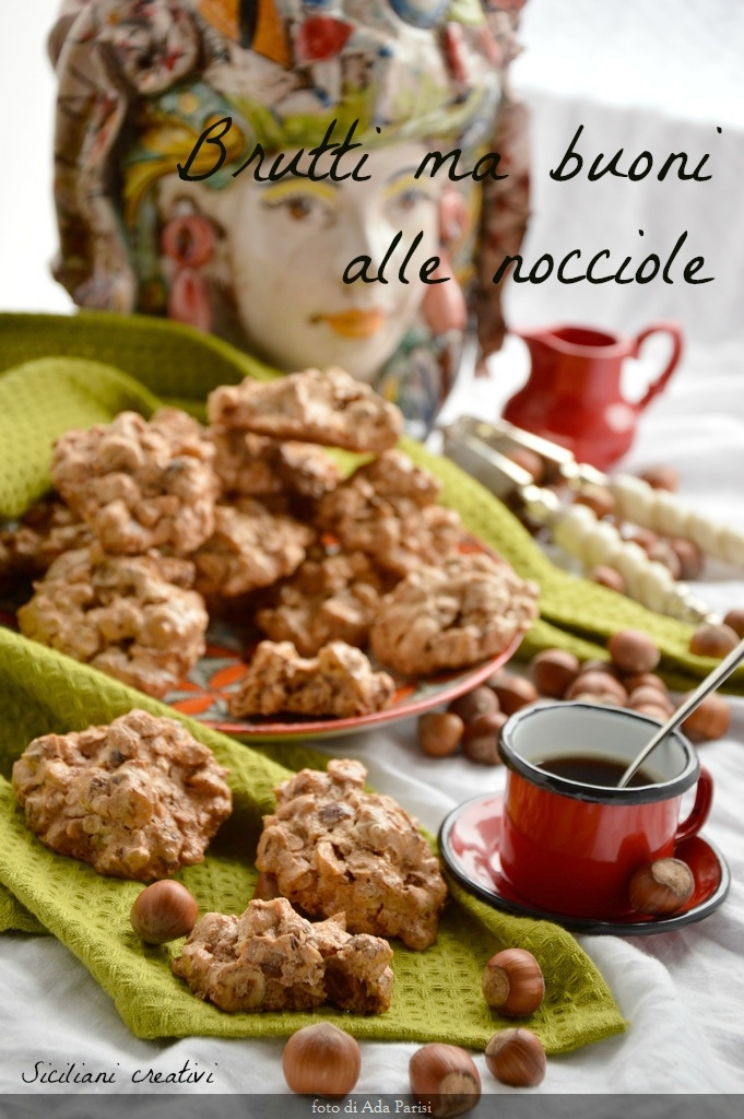 Biscuits ugly but good hazelnut: gluten-free and lactose-free, easy recipe