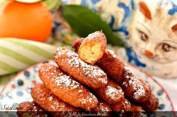 Crispelle dolci di riso siciliane