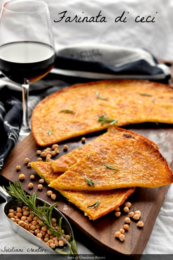 Das Kichererbsenmehl, traditionelles Rezept und vegan