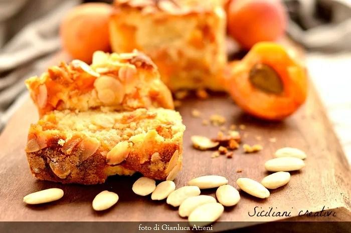 Gâteau moelleux aux abricots frais et amandes