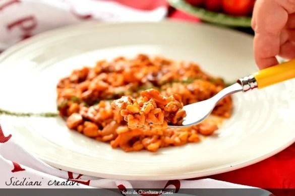 Risotto al polpo: ricetta tradizionale marinara facilissima