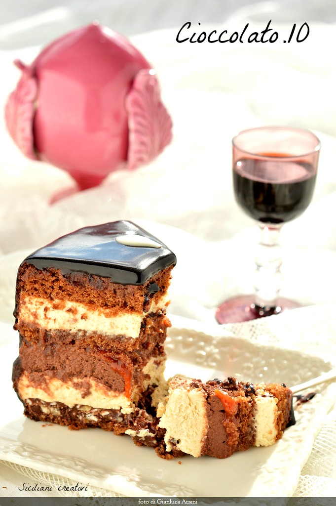 Chocolate layer cake (Setteveli)
