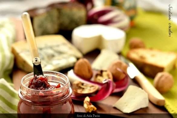 Confettura di radicchio rosso tardivo di Treviso Igp e arance rosse