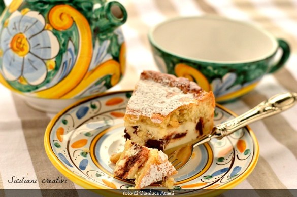 Crostata di ricotta e cioccolato (cassata al forno)