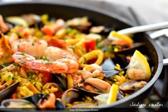 Paella ai frutti di mare, ricetta originale