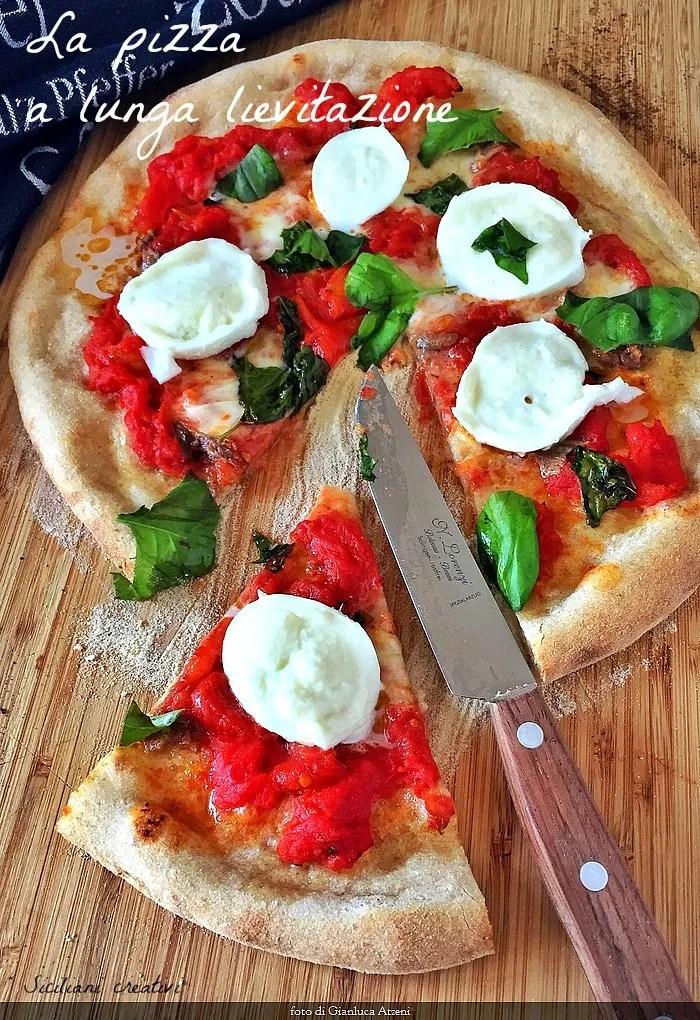 La pizza a lunga lievitazione