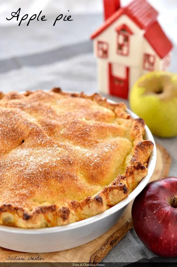 Apfelkuchen (Amerikanische Apfelkuchen)