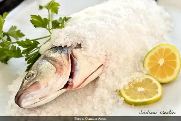 Pesce al sale: cottura facile in forno