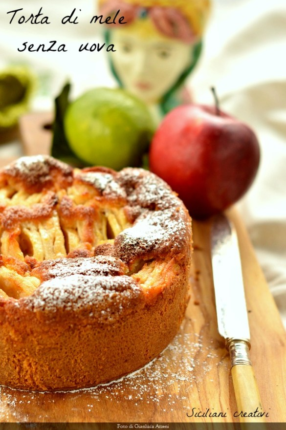 Apple Pie, without Eggs: good and spongy