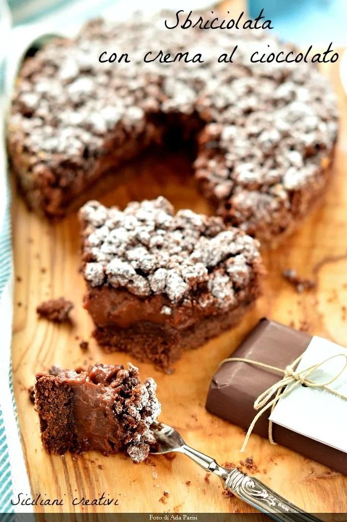 Sbriciolata al cioccolato: cremosissima e peccaminosa. Ricetta a prova di principianti