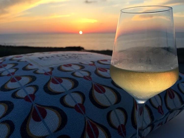 Coucher du soleil à Pantelleria