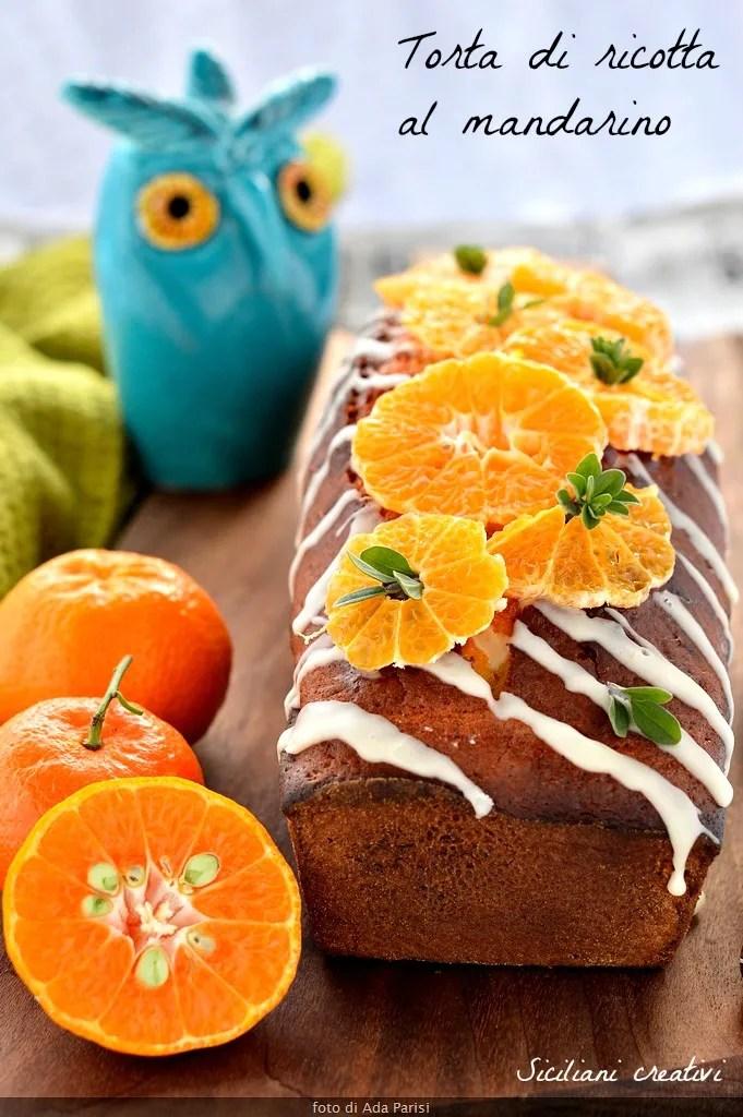 Ricotta and tangerine cake