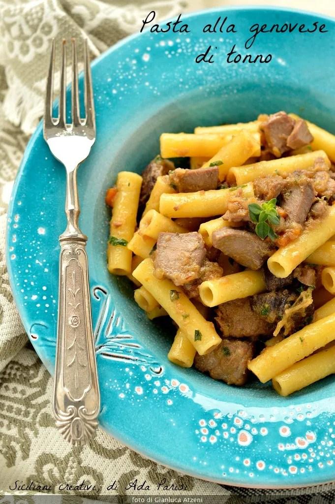 La genovese di tonno: ricetta napoletana strepitosa