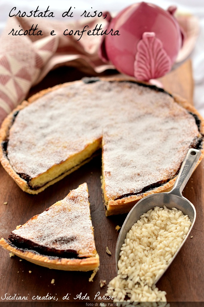 Rice and ricotta tart