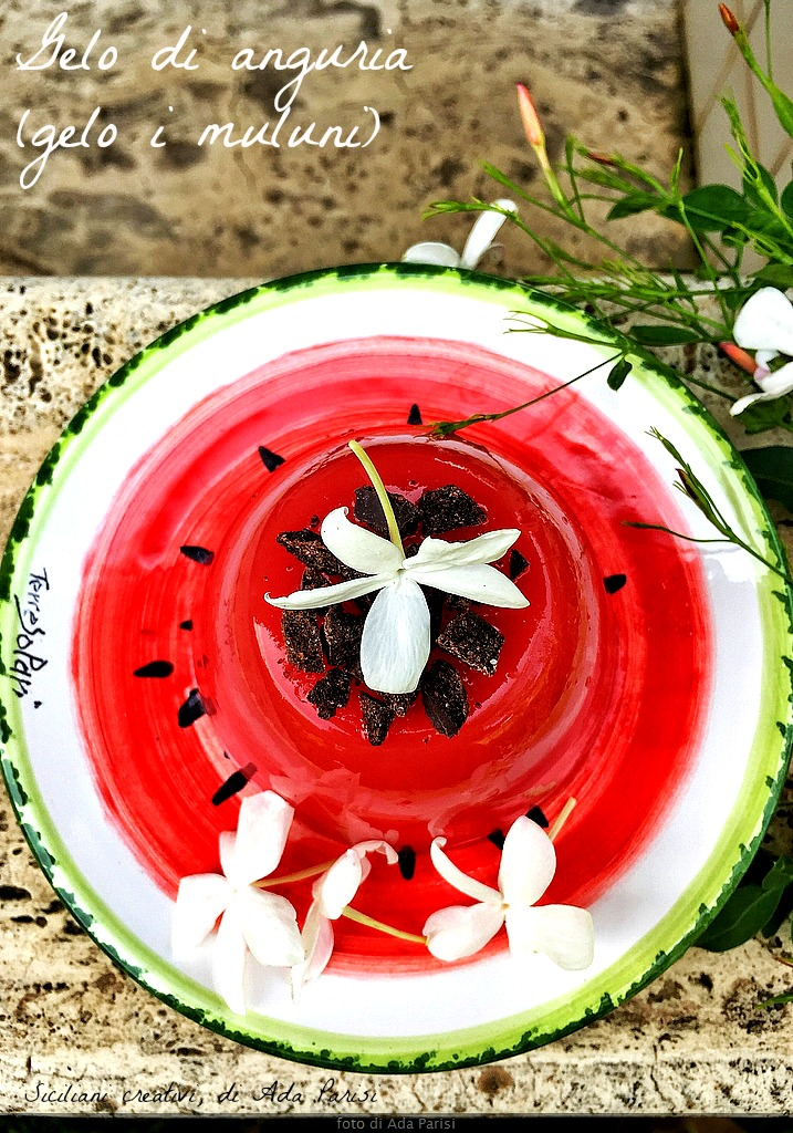 Frost sizilianische Wassermelone