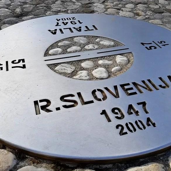 Gorizia, dove c'era il confine con la Slovenia