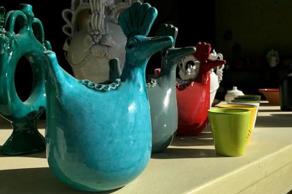 I colori delle ceramiche Usai