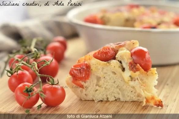 Pizza nel ruoto, ricetta napoletana