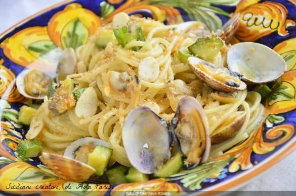 Spaghetti courgettes et palourdes