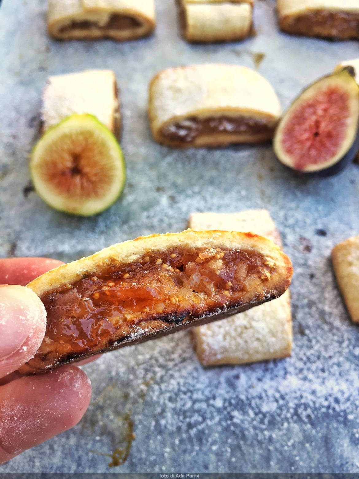 Biscuits with seven-year figs