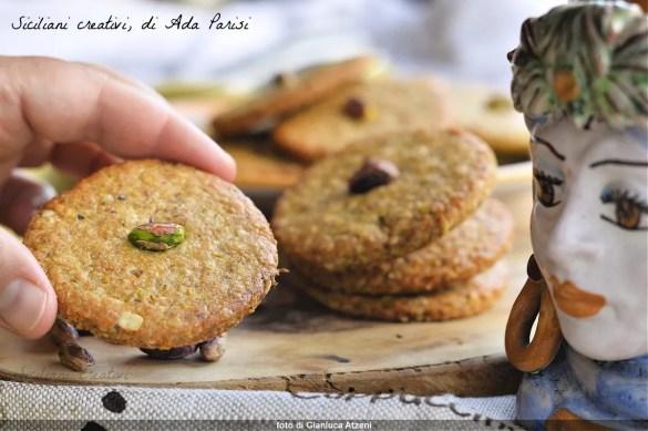 Biscuits végétaliens à la pistache bronte