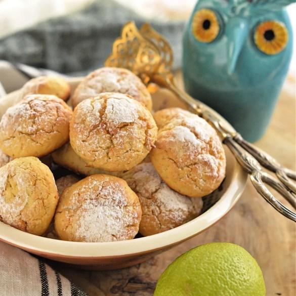 Biscotti veloci ricotta e limone, senza burro