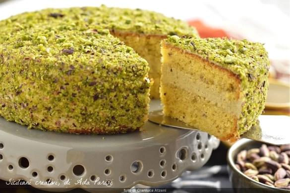 Torta siciliana al pistacchio di Bronte Dop