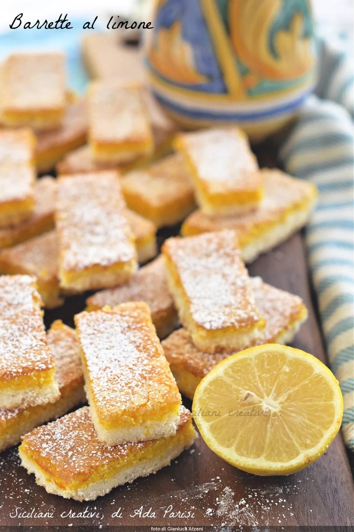 Barrette al limone