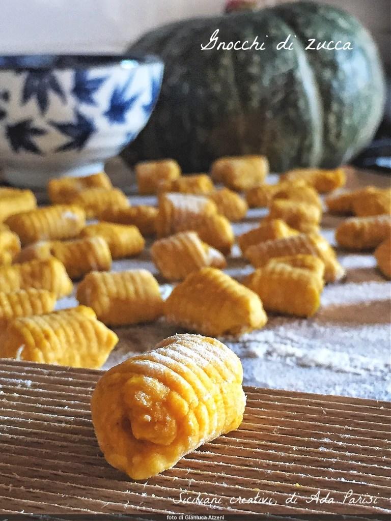 Boulettes de citrouille au gorgonzola et noix