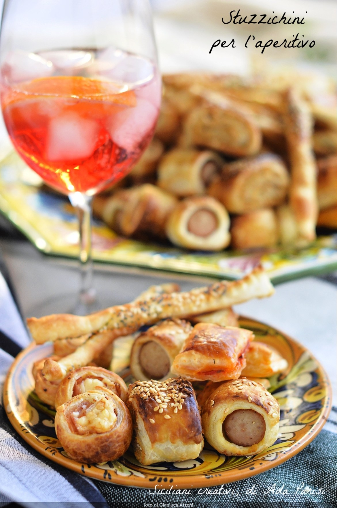 Stuzzichini per l\'aperitivo: 5 recipes with puff pastry