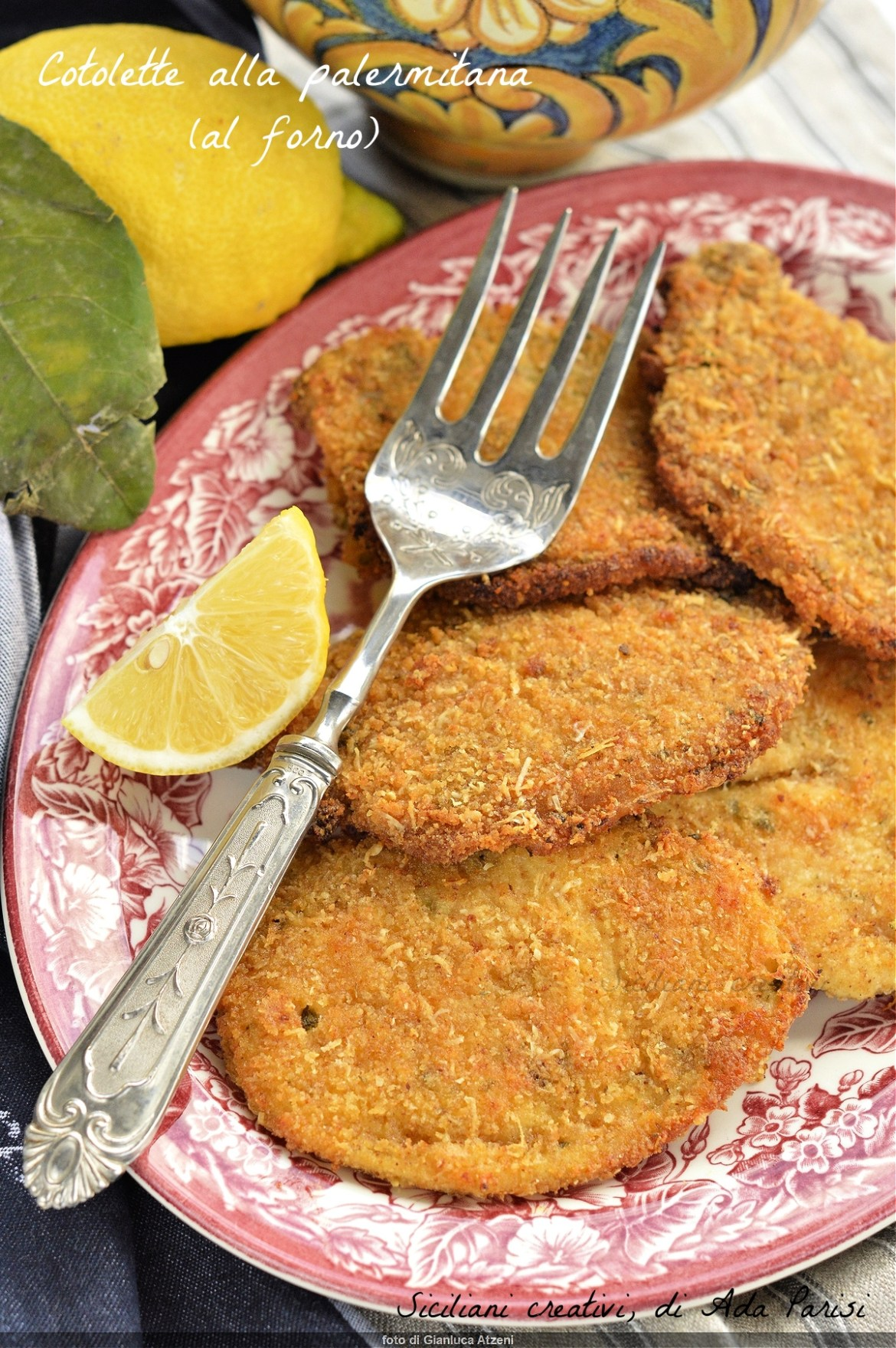 Palermo cutlets (baked)