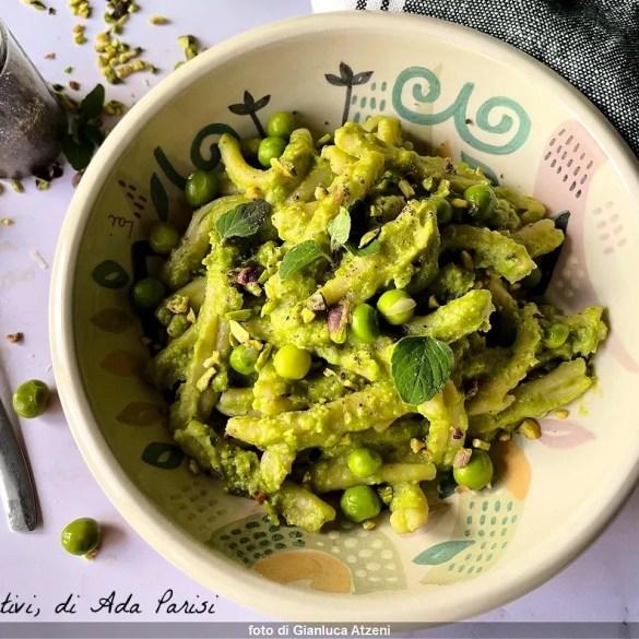 Pesto di piselli e pistacchio