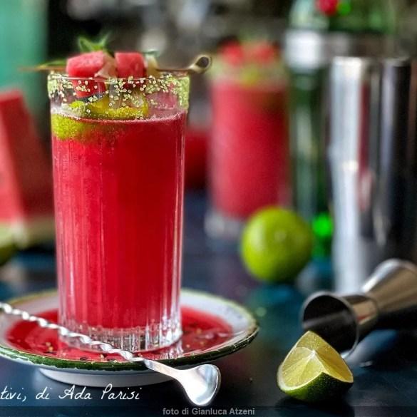 Cocktail all'anguria (alcolico e analcolico)