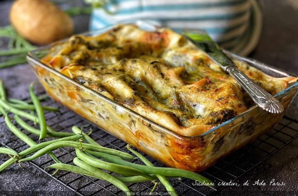 Sommer Lasagne zum Pesto