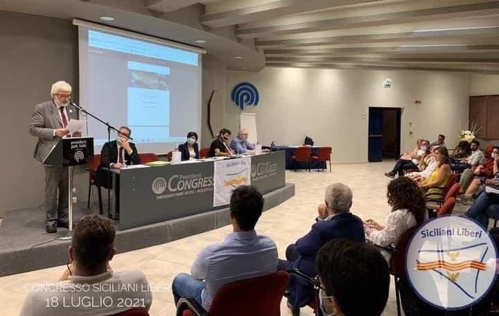 Ciro Lomonte confermato Segretario Nazionale di Siciliani Liberi