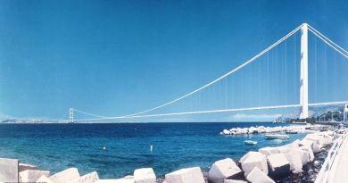 Piano straordinario infrastrutturazione nazionale, inserito il progetto del Ponte sullo Stretto