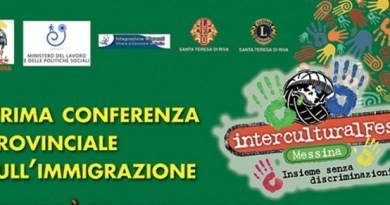 #Messina. Al via il primo InterculturalFest 2015 dell'Anolf Cisl