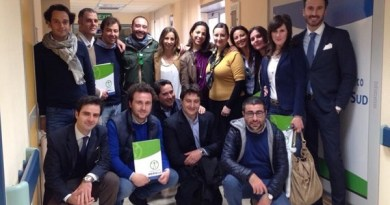 #Messina. L'AIGA in visita al Centro Nemo Sud