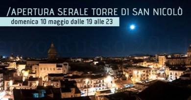 #Palermo. Domenica apertura serale della Torre di San Nicolò all'Albergheria