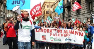 #Palermo. Siglato a Roma l'accordo per l'Almaviva
