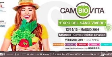 #Catania. Al via CamBIOvita, fiera del vivere sano e sostenibile