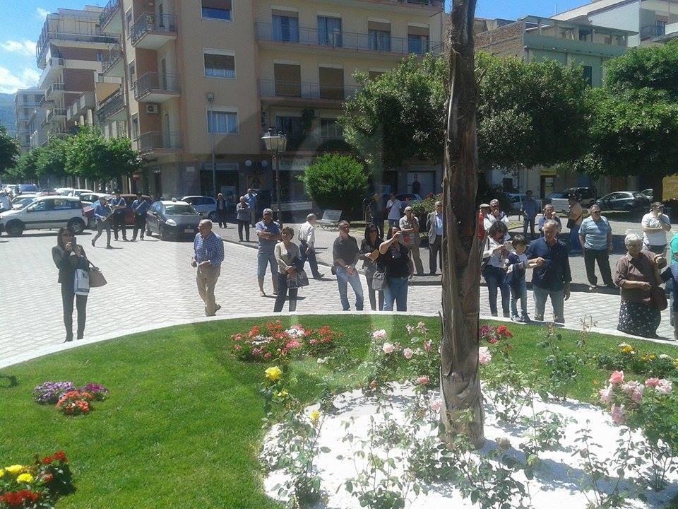 #Barcellona. I Bersaglieri a piazza San Sebastiano