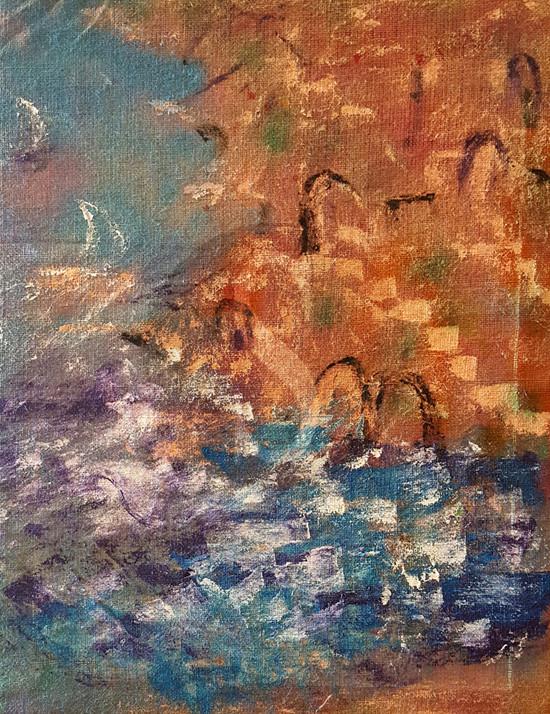 #Salina. Mostra sulle Eolie della Scuola Coloristica Siciliana