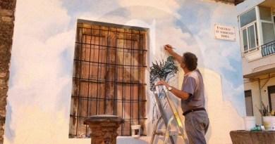 #Barcellona. L'artista Mimmo Ciarrotta dona murales alla città