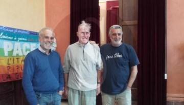 #Messina. Ricevuto oggi a Palazzo Zanca il ciclista Janusz River