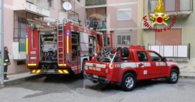 #Messina. Incendio in uno scantinato, evacuate 4 persone