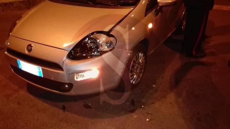#Barcellona. Incidente nella notte tra un'auto dei Carabinieri e una Fiat Punto